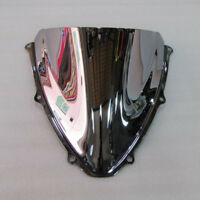 Silver Screen Double bubble Windshield For Suzuki GSXR 600 750 K6 2006 2007