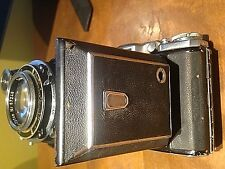 VINTAGE ZEISS IKON TESSAR 1:3,5,F=105 MM, COMPUR RAPID, FOLDING CAMERA