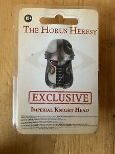 Imperial Knight Head Horus Heresy Warhammer World Exclusive