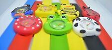 Cartoon Snap Band Watch - Child's Kids Slap On - Stocking Filler - UK Seller