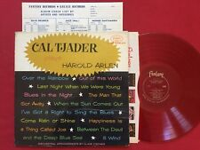 CAL TJADER PLAYS HAROLD ARLEN (1961) FANTASY JAZZ RED WAX LP W/ ALBUM CHECKLIST