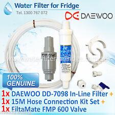 FMP 600 FiltaMate + DAEWOO External Water Filter DD-7098 + 15M 1/4 inch Hose Kit