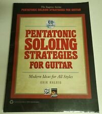 PENTATONIC SOLOING STATEGIES FOR GUITAR LESSONS TAB INSTRUCTION WITH CD