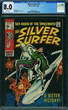 Silver Surfer #11 CGC 8.0 -- 1969 --  Buscema. Adkins. Stan Lee #2035960003