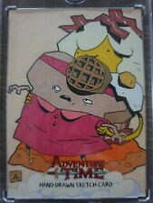 Adventure Time Sketch Card 1/1 Adam Cline 2014 Cryptozoic