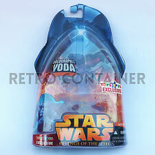 STAR WARS Kenner Hasbro Action Figure - EP III ROTS - Holographic Yoda (Jedi)