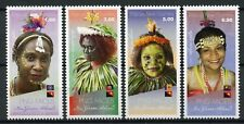 Papua New Guinea 2018 MNH PNG Faces Pt II 4v Set Cultures Traditions Stamps
