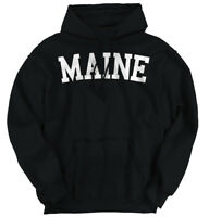 Maine Athletic Student Gym Vacation Pride Hoodies Sweat Shirts Sweatshirts