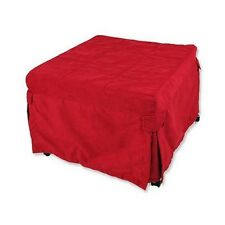Ottoman Folding Bed - Red