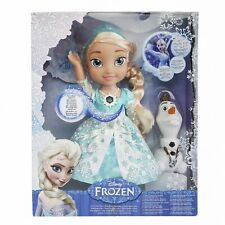 Brand New Disney Frozen Snow Glow Elsa Singing Doll (Discontinued)