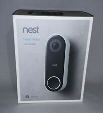 NEST Hello Video Doorbell HD Compatible with Google Home & Amazon Devices NOB