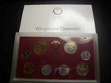originaler KMS 1992 Österreich  mit 2 & 5 Groschen  W/17/481