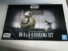 STAR WARS BB-8 & D-O Diorama Set 1/12 scale by BanDai # 8226