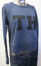 Tommy Hilfiger,Neu mit Tags,Damen,Pullover,Langarm,Blau,S(USA),Gr. 38