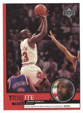 Michael Jordan 1999 Upper Deck Tribute Ignites Bulls offense Basketball Card