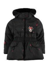 Disney Minnie Mouse Fur School Coat Jacket 2-3 Years