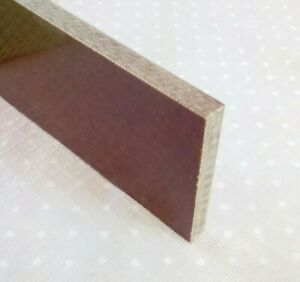 Tufnol Sheet, whale grade 6mm thick X 54mm x 50 mm Please read FULL description