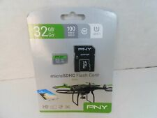 NEW PNY 32GB Elite Micro SDHC Flash Card with Adapter Drone