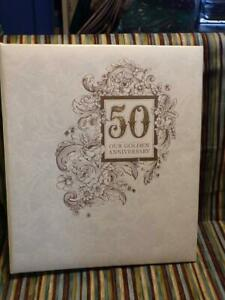 50th Wedding ANNIVERSARY ALBUM  Hallmark AAL5308