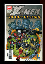 X-MEN DEADLY GENESIS LIMITED 6 ISSUE SET(9.2-9.8)(NM- TO NM/MT)SILVESTRI