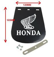 HONDA LOGO MOTORCYCLE MUD FLAP / MUDFLAP SMALL120mm X 160mm (RUBBER)