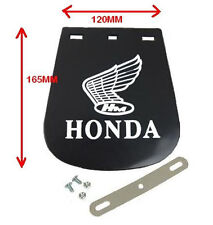HONDA LOGO MOTORCYCLE MUD FLAP / MUDFLAP SMALL120mm X 160mm (RUBBER)