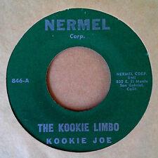 CALYPSO 45 - KOOKIE JOE -THE KOOKIE LIMBO - NERMEL LABEL - 1961