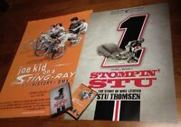 Joe Kid on a Stingray Movie Poster, Dvd, Stompin Stu Movie Poster, Dvd New BMX