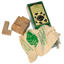 WOODEN CUBE CONUNDRUM PUZZLE by HOUSE OF MARBLES - NEW