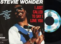 "STEVIE WONDER i just called to say i love you 7"" PS EX/EX german"