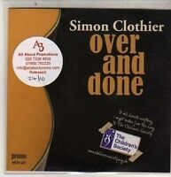 (DB879) Simon Clothier, Over And Done - 2011 DJ CD