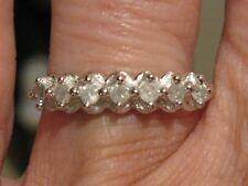 .28ctw 10k WHITE GOLD DIAMOND RING or DIAMOND ANNIVERSARY RNG or WEDDING BAND
