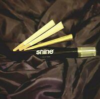 Luxury 24k Gold Pre-rolled Cone Shine Midas Smoking Paper King Size Rizla Raw