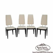 Peter Maly for Tonon Set of 4 Italian Modern Design Dining Chairs