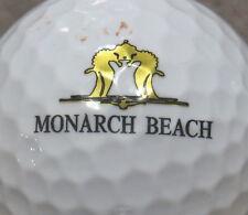 (1) MONARCH BEACH GOLF COURSE LOGO GOLF BALL