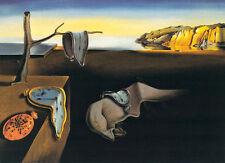 Salvador Dali The Persistence of Memory 1931 Surrealism Clock Print Poster 27x24