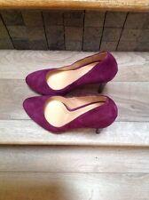 Cole Haan Chelsea Masquerade Purple Suede Nike Air Pumps / Heels Sz 8M
