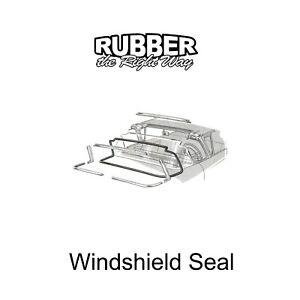 1957 1958 Mercury Turnpike Cruiser Windshield Seal