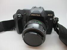 Near Mint PENTAX MZ-S 35MM SLR FILM camera black body w/ lens