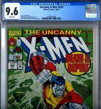 PRIMO:  Uncanny X-MEN #293 Colossus NM+ 9.6 CGC Marvel comics 1992