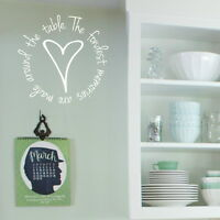Fondest Memories Kitchen Quote Wall Stickers, Family Decals, Home art Vinyl kq5