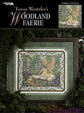 Leisure arts Teresa Wentzler cross stitch Chart 3342 Woodland Faerie