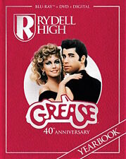 GREASE - 40TH ANNIVERSARY EDITION [BLU-RAY/DVD COMBO PACK] - NEW UNOPENED