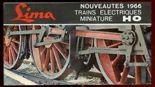 CATALOGUE  LIMA NOUVEAUTES 1966. TRAINS ELECTRIQUES HO.