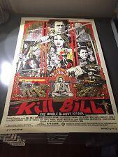 Kill Bill - The Whole Bloody Affair - Tyler Stout - Screen Print Poster - Mondo
