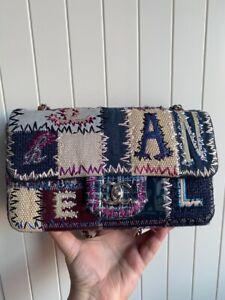Chanel Denim Patchwork Medium Flap Bag Limited Edition