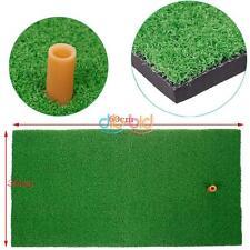 """Easy Use Backyard Golf Mat 12""""x24"""" Practice Golf Mat Rubber Tee Holder Durable"""