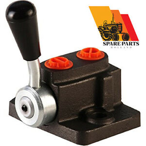 Hydraulic selector/diverter valve, replaces Massey Ferguson plate 180908M1