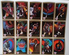 1990-91 Skybox New Jersey Nets Team Set Of 15 Basketball Cards