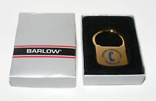 Vintage Barlow Advertising Key Ring Southern Communications Products, Inc w/Box